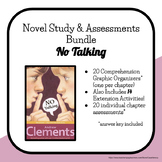 No Talking Novel Study and Assessments