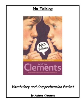 No Talking by Andrew Clemen... by paradiseNprimary | Teachers Pay ...