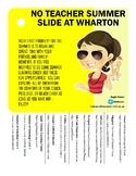 No Teacher Summer Slide-Teacher Summer Learning