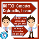 No Tech Computer Keyboarding Lessons