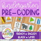No Tech Pre-Coding For Kindergarten! Teach coding skills without technology