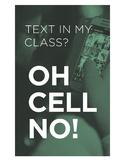 No Texting Poster