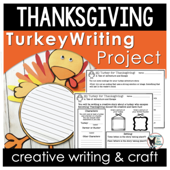 No Turkey for Thanksgiving! Creative Writing Project