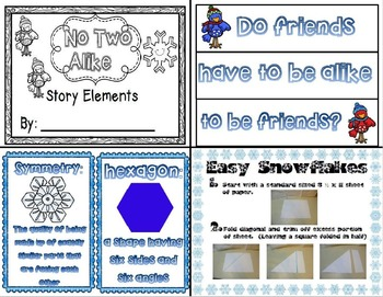 No Two Alike (A Mini-Unit with Science and Literature Integration)