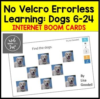 No Velcro Errorless Learning: Dogs 6-24 Digital Task Cards