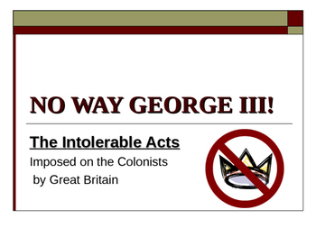 No Way George III!