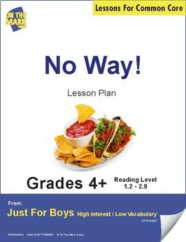 No Way! (Non-Fiction - Report) Reading Level 2.4 Aligned to Common Core