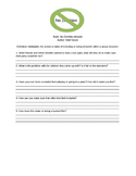 No Zombies Allowed Worksheet