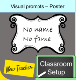No name papers reminder poster