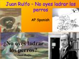 No oyes ladrar los perros Juan Rulfo | Actividad Cooperativa Análisis literario