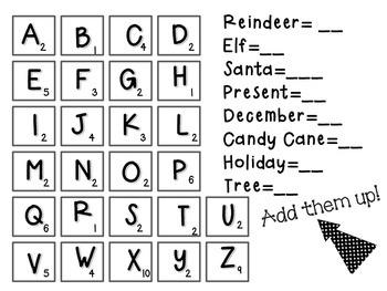 No prep Christmas Activity Packet