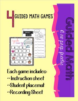 No prep Guided Math Freebie