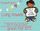 No prep - No copies - Long Vowel Teams PowerPoint