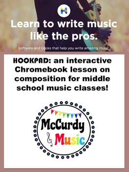 No prep internet based composition activity for Middle School Music Class!