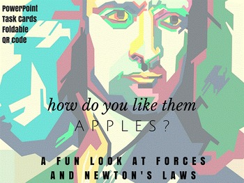No prep physics forces Newton's laws PWPT interactive note
