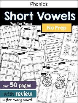 No-prep practice: Short Vowels
