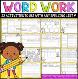No prep spelling practice and word work