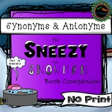 Synonyms and Antonyms No Print (Ipad, computer, Smartboard)