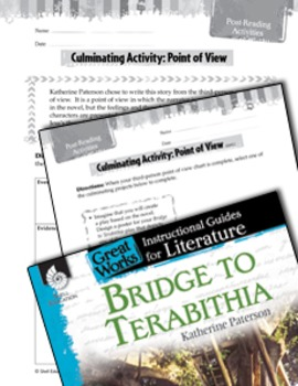 No rating yet (Leave a Review)  Bridge To Terabithia Post-Reading Activities