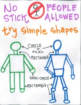 No stick people allowed!