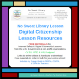 NoSweat Library Lesson: Digital Citizenship Lesson Planner