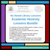 NoSweat Library Lessons: Academic Honesty Bundle