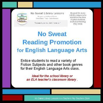 NoSweat Reading Promotion for English Language Arts