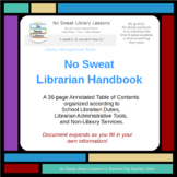 NoSweat Library Management: School Librarian Handbook
