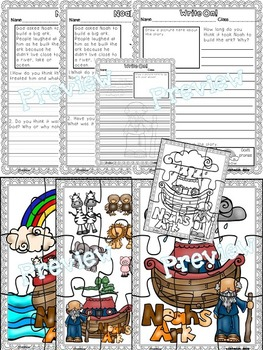 Noah and the Ark (Pop-Ups, 2-D, Writing & Puzzle Activities)