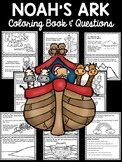 Noah and the Ark Coloring Book; Bible Story; Noah's Ark; Flood; Questions