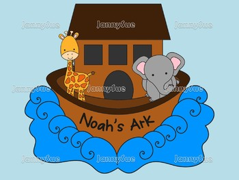 Noah and the Ark craft kit- Bible craft for kids