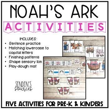 Noah's Ark Activities