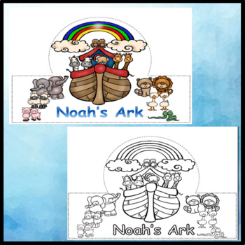 Noah's Ark Bible Story Crowns / Hats