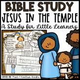 Jesus in the Temple Bible Study