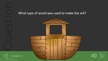 Noah's Ark Bible Trivia Review Game Fun!