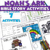 Noah's Ark Booklet and Activities for Sunday School or Children's Church Bible