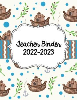 Noah's Ark Christian School Teacher Binder 2018-2019