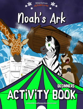 Noah's Ark Activity Book for Kids Ages 3-5