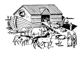Noah's Ark Comic Strip and Storyboard