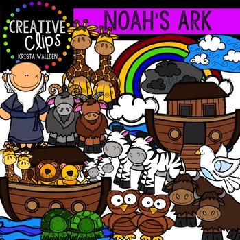 Noah's Ark {Creative Clips Digital Clipart}