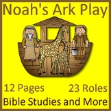 Bible Study Distance Learning Play: Noah's Ark Readers The