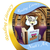 Noah's Ark Reading Literacy Activity and Craft