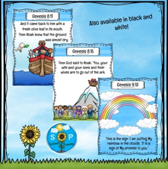 Noah's Ark Scripture Cards