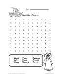 Noah's Ark Word Search by Biblecation