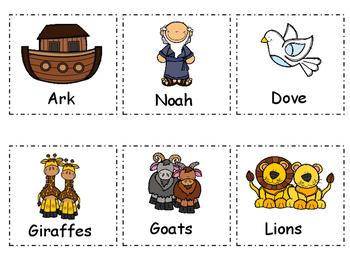Noah's Ark Write the Room Activity