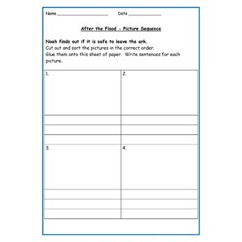 Noah's Ark and The Rainbow - Presentations, Lesson Plans, Worksheets/Activities