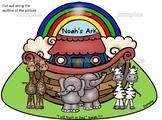 """Noah's Ark craft- """"I will trust God"""" Isaiah 12:2 Bible sto"""