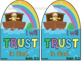 "Noah's Ark craft- ""I will trust in God"" Isaiah 12:2- Bible craft for kids"