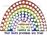 Noah's Ark dot paint pages- Bible Story activity