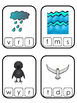 Noah's Ark themed Clip the Beginning Sound printable game. Bible Curriculum